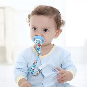 Baby Pacifier Soother Dummy Clip Holder String Strap Chain Toy String Strap Clip by Pendant Guard