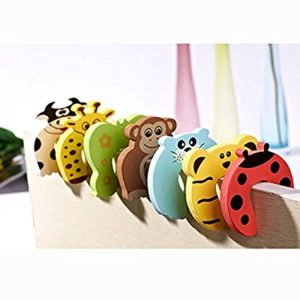 Children Safety Door Jammer Stopper Child Kids Security Protector Finger Corner Guard by FisRod